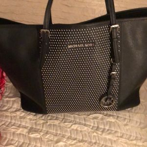 MK studded large tote